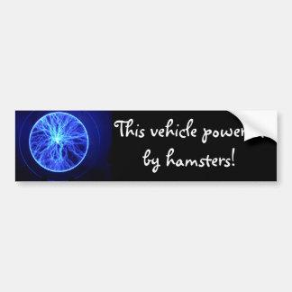 Indigo Bumper Sticker