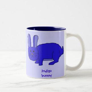 Indigo Bunny mug