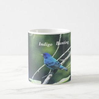 Indigo , Bunting Coffee Cup Classic White Coffee Mug