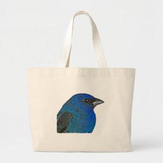 Indigo Bunting Logo Tote Bag