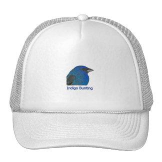 Indigo Bunting Logo Trucker Hat