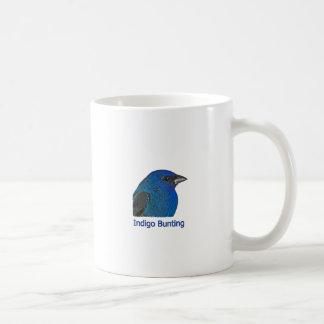 Indigo Bunting Logo Coffee Mugs