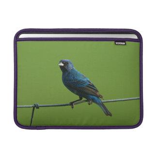 Indigo Bunting MacBook Sleeve