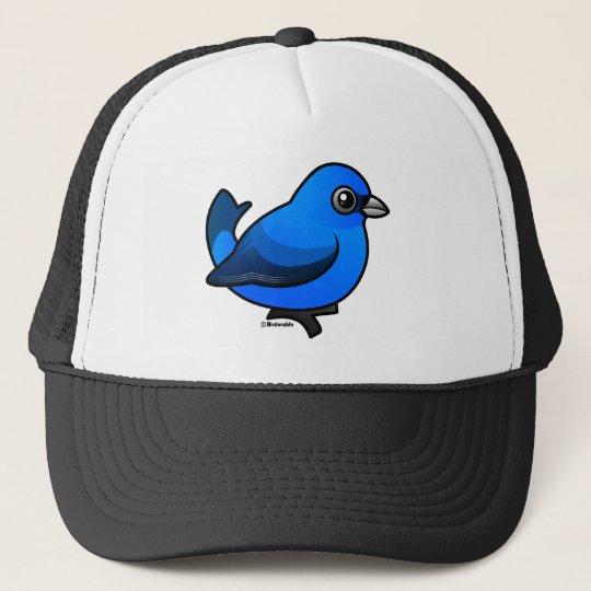 Indigo Bunting Trucker Hat