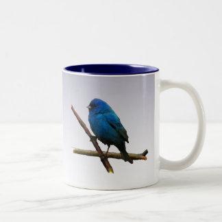Indigo Bunting Two-Tone Coffee Mug