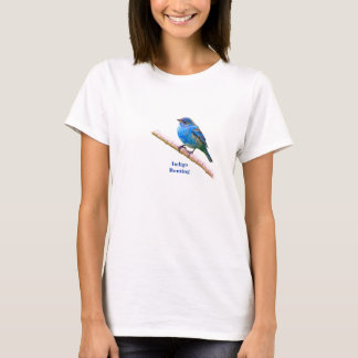 Indigo Bunting (version 2) T-Shirt