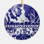 Indigo Christmas Tree Ornaments