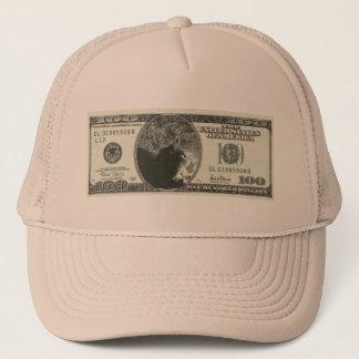 Indigo Dollars Trucker Hat