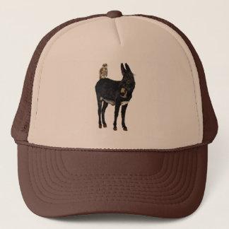 INDIGO DONKEY & OWL Hat