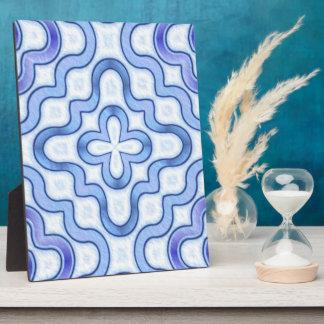 Indigo Dyed Cotton Plaques