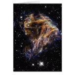 Indigo Edged Stellar Debris Cloud Cards