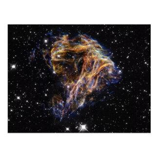Indigo Edged Stellar Debris Cloud Post Cards