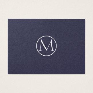 Indigo Elegant Business Card