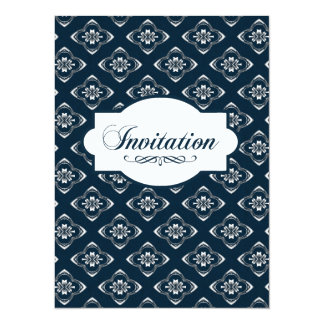 Indigo Engravers Nautical Design Card