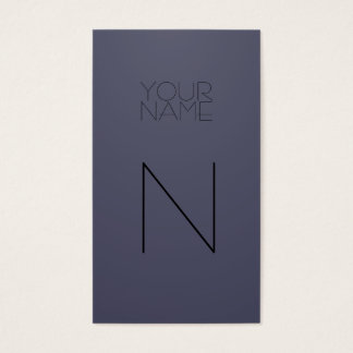 Indigo Fashion Business Card