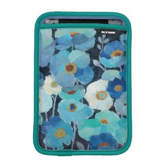 Indigo Flowers iPad Mini Sleeve
