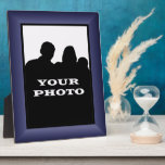 Indigo Frame Your Photo 8 x 10 Vertical Plaque