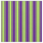 [ Thumbnail: Indigo & Light Green Colored Pattern Fabric ]