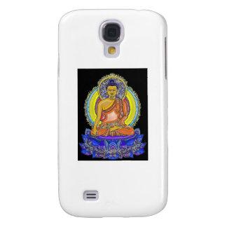 Indigo Lotus Buddha Samsung Galaxy S4 Covers