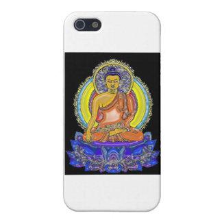 Indigo Lotus Buddha Cases For iPhone 5