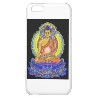 Indigo Lotus Buddha iPhone 5C Cases