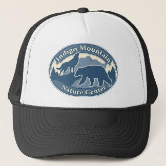 Indigo.Mtn.Logo.2000x1500 Transparent Trucker Hat