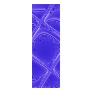 Indigo Petals Bookmark Mini Business Card