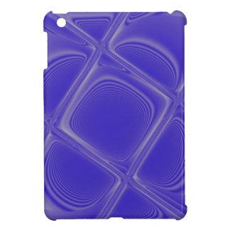 Indigo Petals Morphed Landscape iPad Mini Cover