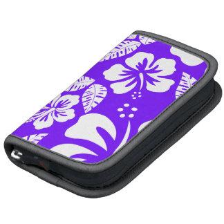 Indigo, Purple Hawaiian Tropical Hibiscus Organizer