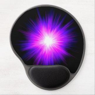 Indigo purple healing flame reiki divine energy gel mouse mats
