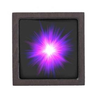 Indigo purple healing flame reiki divine energy premium gift box