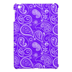 Indigo, Purple Paisley; Floral iPad Mini Case