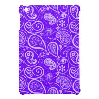 Indigo, Purple Paisley; Floral iPad Mini Case