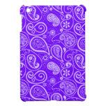 Indigo, Purple Paisley; Floral iPad Mini Cover