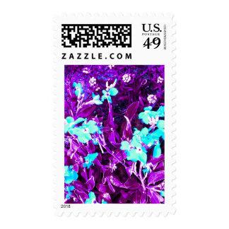 Indigo Rhapsody Postage Stamps