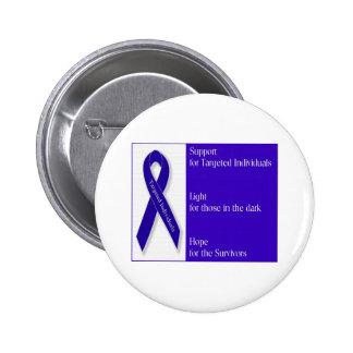 Indigo Ribbon Button