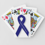 Indigo Ribbon Card Decks