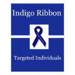 Indigo Ribbon  In Celebration Letterhead