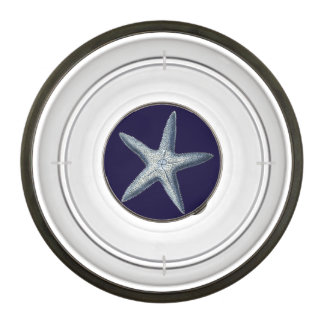 Indigo Shells IV Bowl