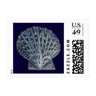 Indigo Shells VIII Postage