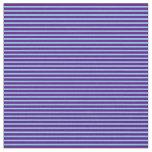[ Thumbnail: Indigo & Sky Blue Colored Pattern Fabric ]