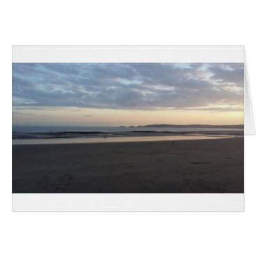 "Beach Themed Indigo Sky Summer - Std (5"" x 7"") Greetings Card"