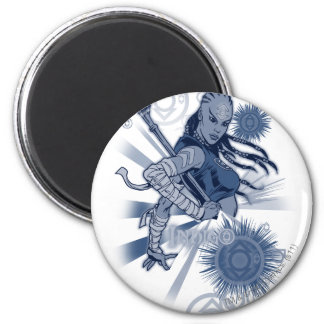 Indigo Tribe 10 Magnet