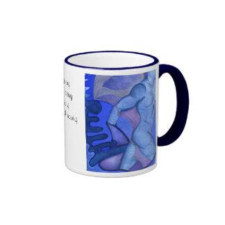 Indigo Warrior Ringer Coffee Mug