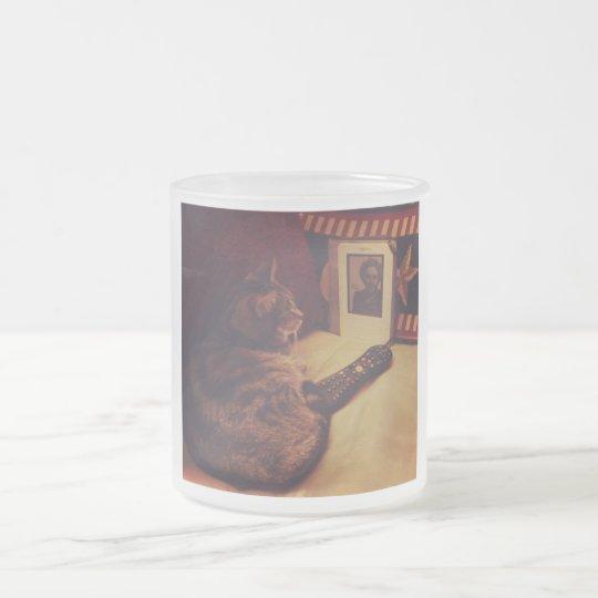 Indigo's Kindle Frosted Glass Coffee Mug