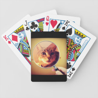 Indigo's Magnifying Glass Bicycle Playing Cards
