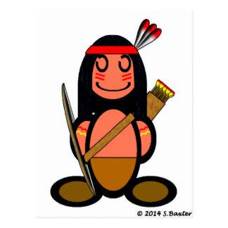 Indio americano (llano) postales
