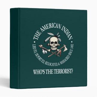 """Indio americano (quién es el terrorista?) carpeta 1"""""""