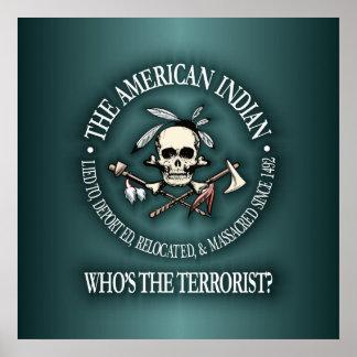 Indio americano quién es el terrorista