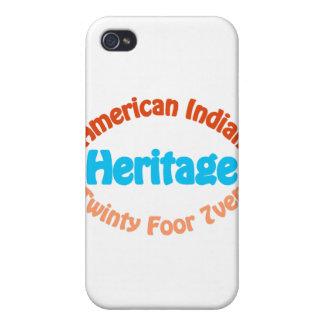 Indio americano - Twinty Foor 7ven iPhone 4 Fundas